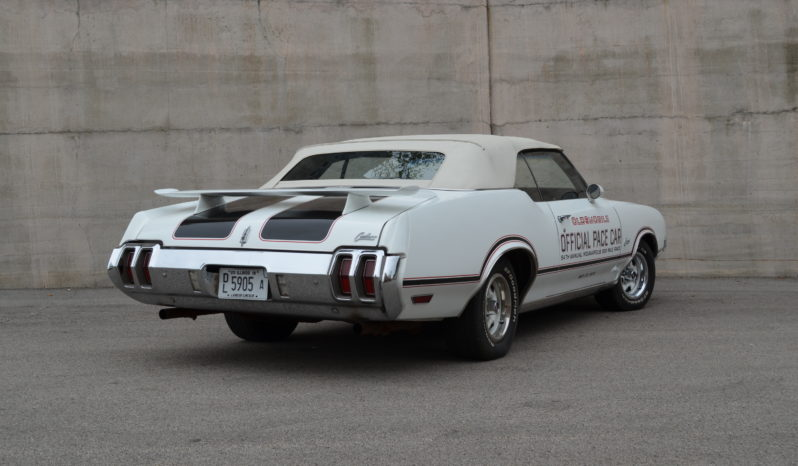 1970 Oldsmobile Cutlass Pace Car full